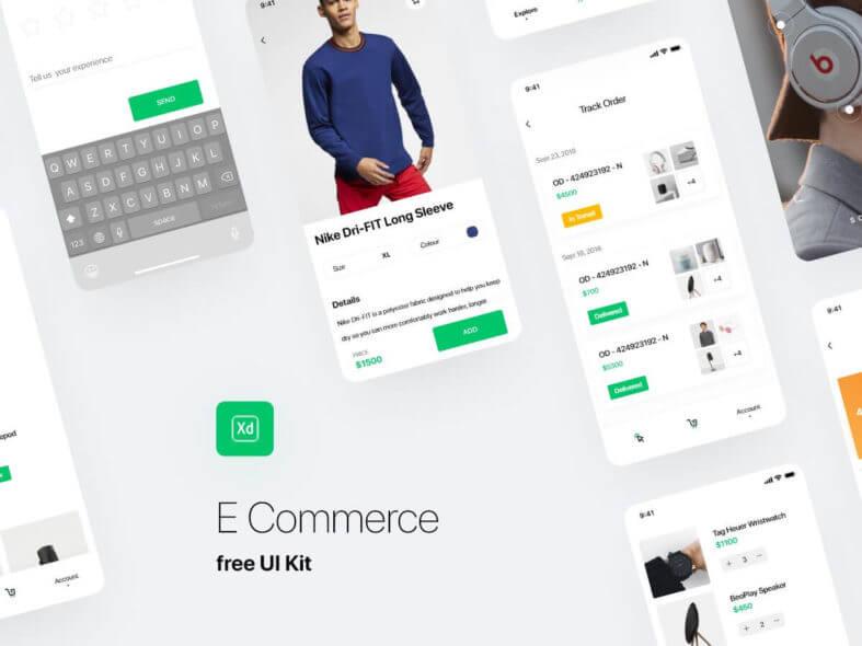 Free Fashion Ecommerce UI Kit