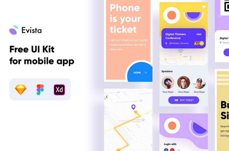 Evista IOS App Free
