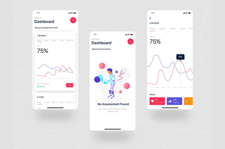 Medical App UI Kit Free