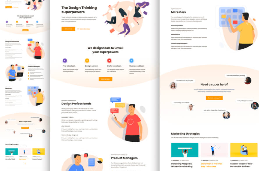 Productly Landing Page Free