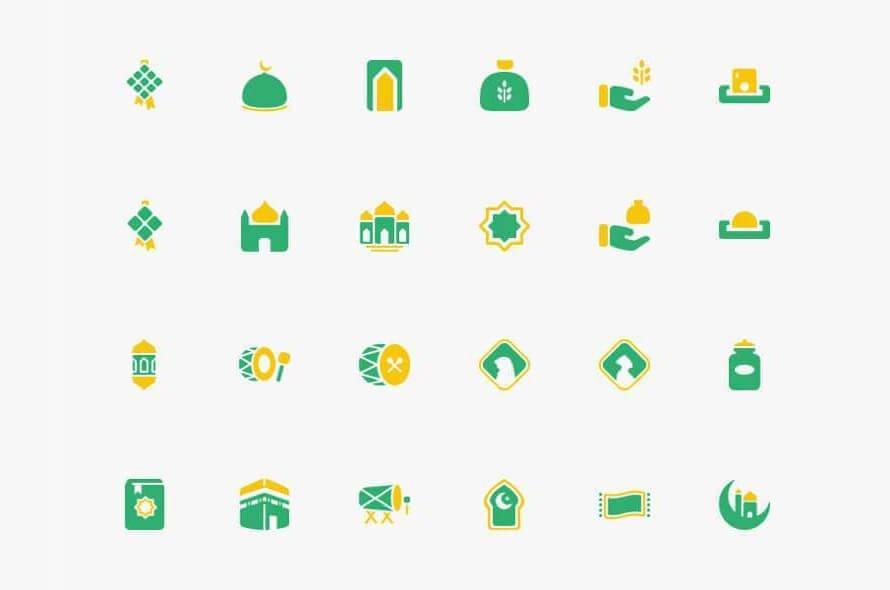 Ramadhan Icons Free