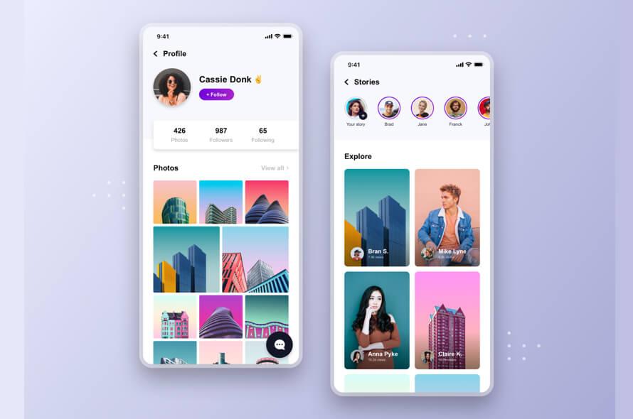 Social Profile App Free
