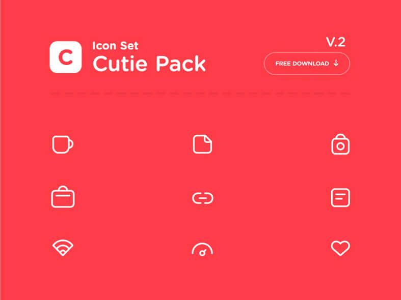 Cutie Pack Icons- uifreebies.net