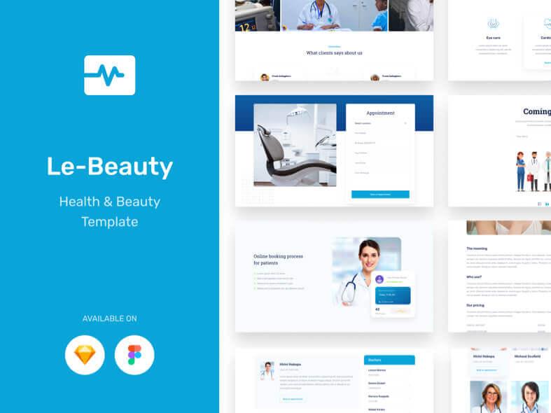 Lebeauty Medical Web Free