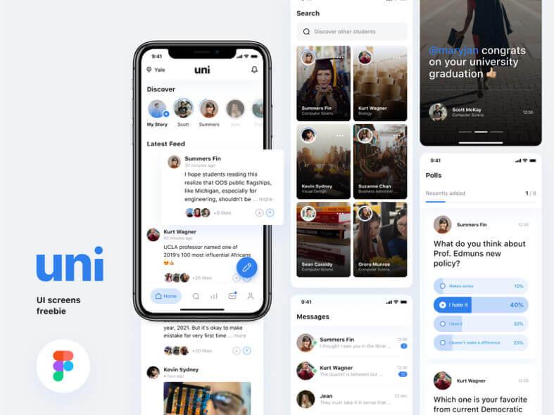 University Social App Free
