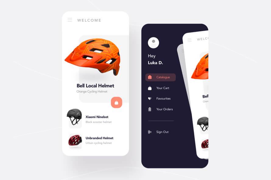 Free Helmet Shopping App