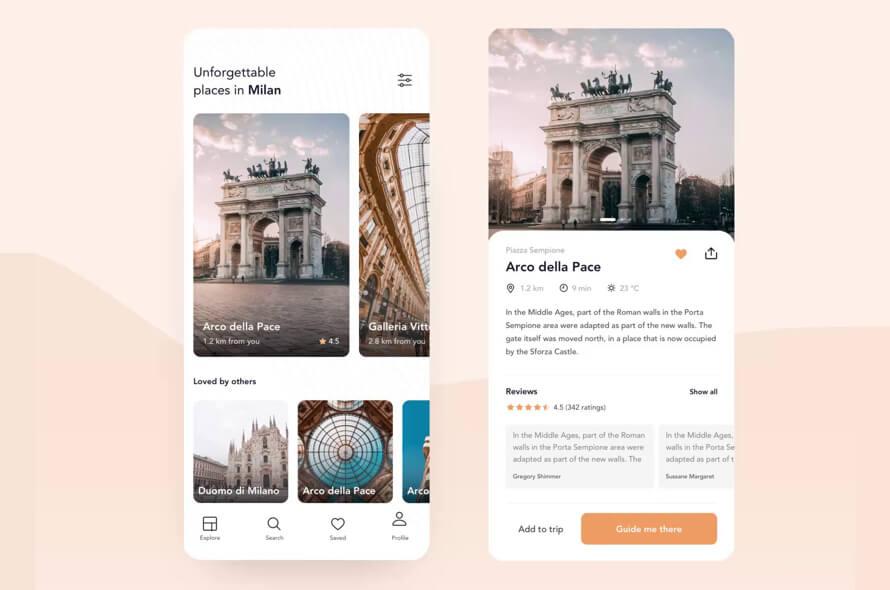 Sightseeing Travel App Free