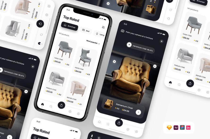 Furniture Shopping App Free